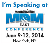Vernay Presenting at MD&M East Conference, June 9th at 11am
